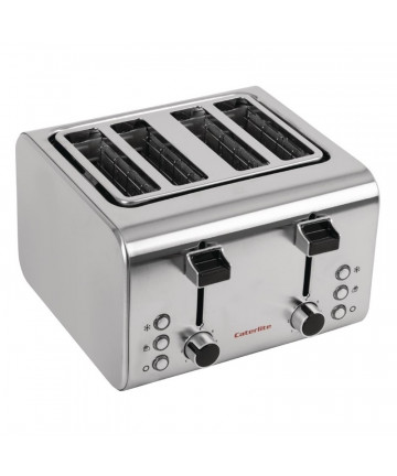 Grille-Pain Caterlite en Inox 4 Tranches
