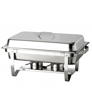 Chafing Dish Atosa Eco GN1/1 avec Pieds Pliables