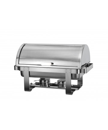 Chafing Dish Atosa à Couvercle Rabattable à 90°