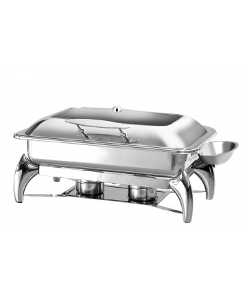 Chafing Dish Atosa GN1/1 à Induction Couvercle Hublot