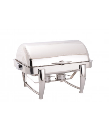 Chafing Dish Atosa Eco avec Couvercle Rabattable 180°