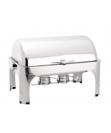 Chafing Dish Atosa Eco GN1/1 avec Couvercle Rabattable 180°